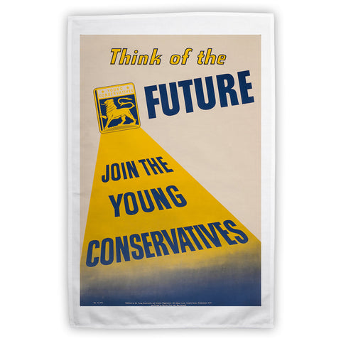 Think of the future Tea Towel