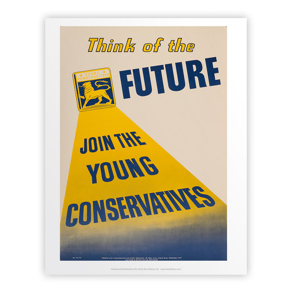 Think of the future Art Print