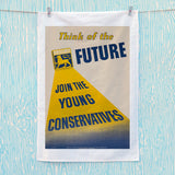 Think of the future Tea Towel (Lifestyle)