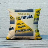 Think of the future Feather Cushion (Lifestyle)