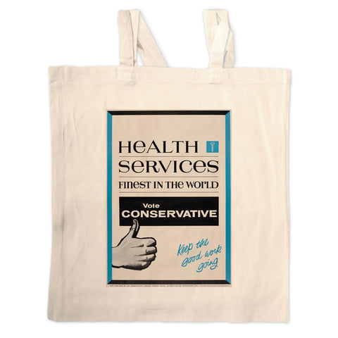 Health Services Long Handled Tote Bag