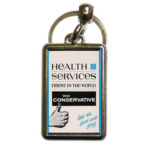 Health Services Metal Keyring