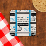 Health Services Cork Coaster (Lifestyle)