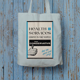 Health Services Long Handled Tote Bag (Lifestyle)