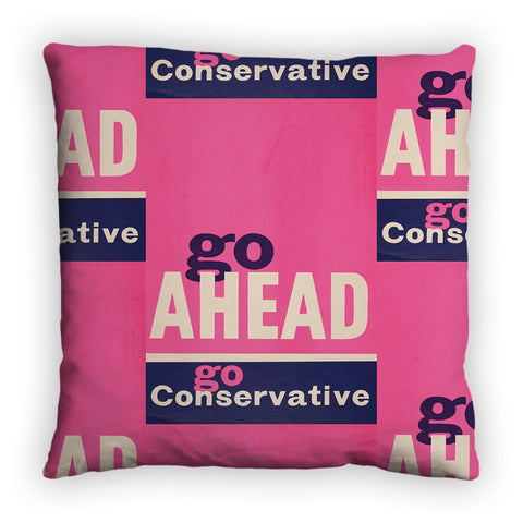 Go ahead Feather Cushion