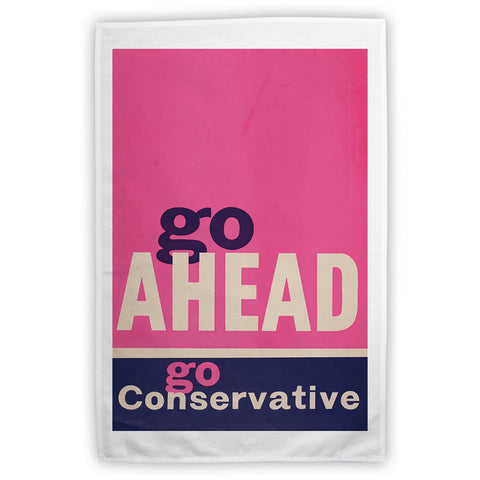 Go ahead Tea Towel