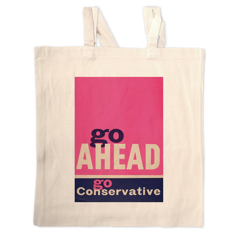 Go ahead Long Handled Tote Bag