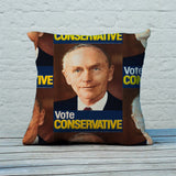 Vote Conservative (Douglas Home) Feather Cushion (Lifestyle)