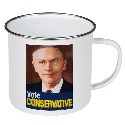 Vote Conservative (Douglas Home) Enamel Mug