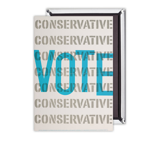 Vote Conservative Magnet