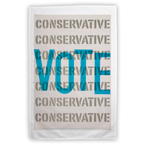 Vote Conservative Tea Towel