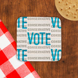 Vote Conservative Cork Coaster (Lifestyle)