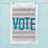 Vote Conservative Tea Towel (Lifestyle)