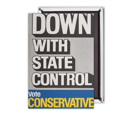 Down with state control. Magnet