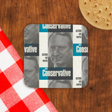 Action not words Cork Coaster (Lifestyle)