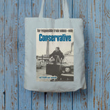 For responsible Trade Unions Long Handled Tote Bag (Lifestyle)