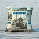 For responsible Trade Unions Feather Cushion (Lifestyle)