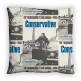 For responsible Trade Unions Feather Cushion