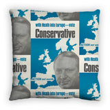 With Heath in Europe Feather Cushion
