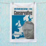With Heath in Europe Tea Towel (Lifestyle)
