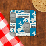 With Heath in Europe Cork Coaster (Lifestyle)