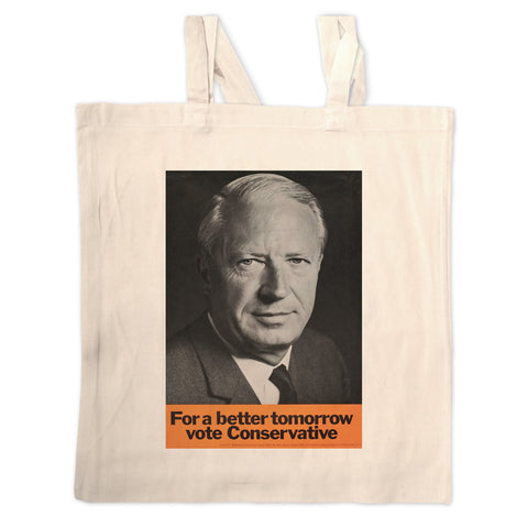 For a better tomorrow vote Conservative Long Handled Tote Bag