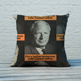 For a better tomorrow vote Conservative Feather Cushion (Lifestyle)