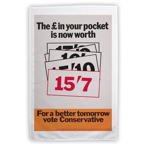 The £ in your pocket Tea Towel