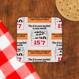 The £ in your pocket Cork Coaster (Lifestyle)