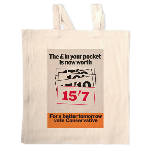 The £ in your pocket Long Handled Tote Bag