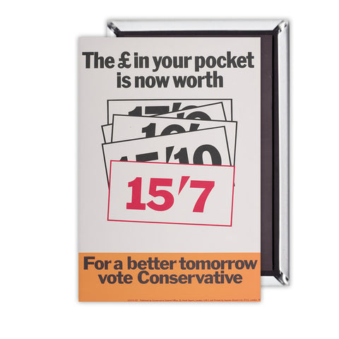 The £ in your pocket Magnet