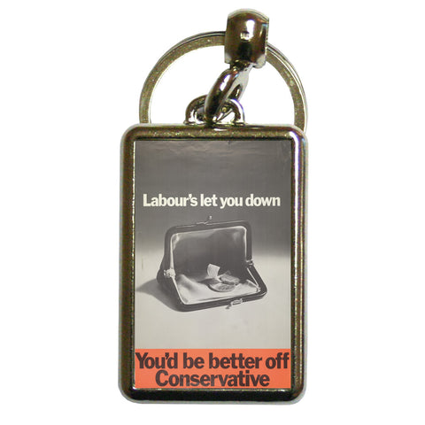 You'd be better off Conservative Metal Keyring