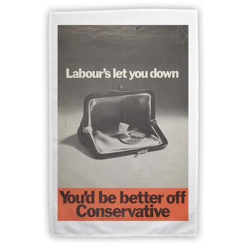 You'd be better off Conservative Tea Towel