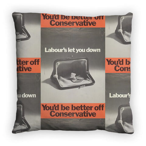 You'd be better off Conservative Feather Cushion
