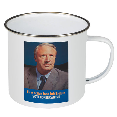 Firm action for a fair Britain Enamel Mug