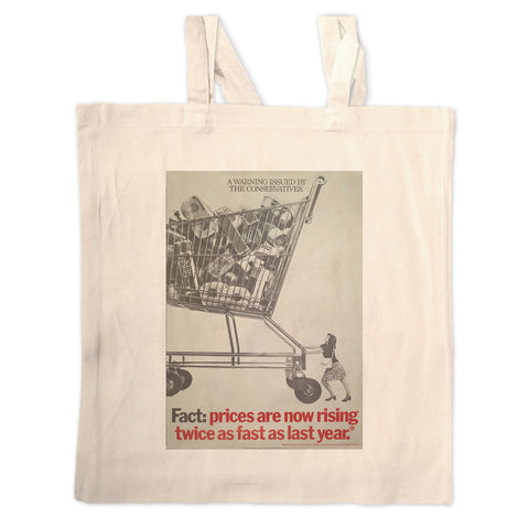 A warning is issued by the Conservatives. Giant Trolley Long Handled Tote Bag