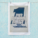 Put Britain first Tea Towel (Lifestyle)
