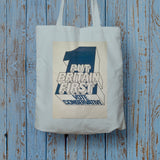 Put Britain first Long Handled Tote Bag (Lifestyle)