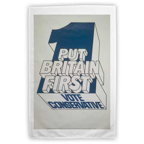 Put Britain first Tea Towel
