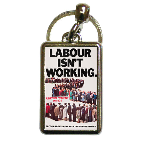 Britain's better off with the Conservatives Metal Keyring