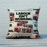 Britain's better off with the Conservatives Feather Cushion (Lifestyle)