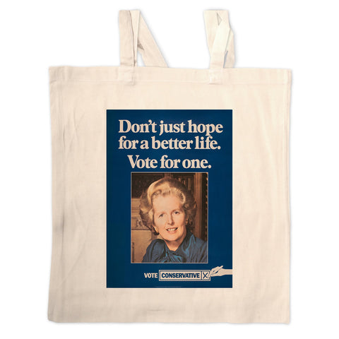 Don't just hope for a better life vote for one Long Handled Tote Bag