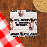 Even Labour's better with the Tories Cork Coaster (Lifestyle)