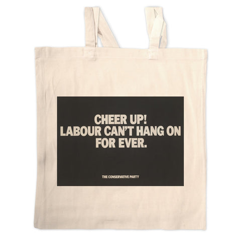 Cheer up! Long Handled Tote Bag