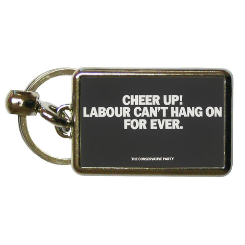 Cheer up! Metal Keyring