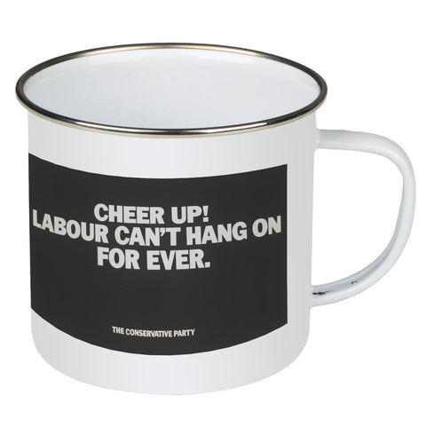 Cheer up! Enamel Mug