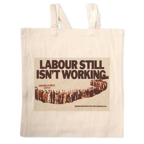 Labour still isn't working Long Handled Tote Bag