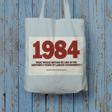 1984. What would Britain be like after another 5 years of Labour government? Long Handled Tote Bag (Lifestyle)