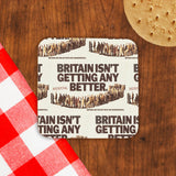 Britain isn't getting any better Cork Coaster (Lifestyle)