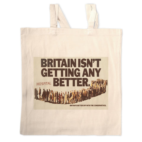 Britain isn't getting any better Long Handled Tote Bag